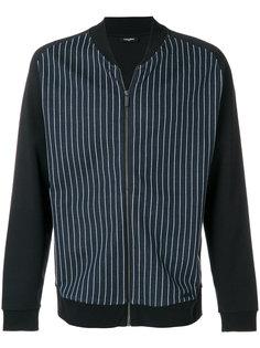 полосатая куртка-бомбер Calvin Klein