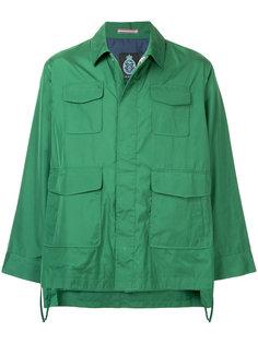 укороченная куртка с расклешенными рукавами Guild Prime