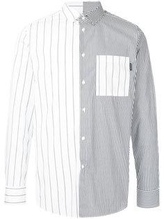 рубашка в полоску с контрастным дизайном Guild Prime
