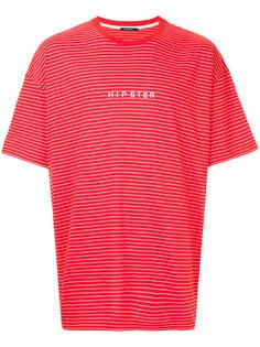 футболка Hipster с узором в полоску Guild Prime
