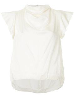 блузка с высоким воротом  08Sircus