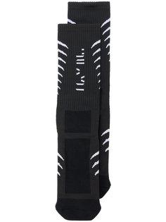 носки с принтом позвоночника Unravel Project