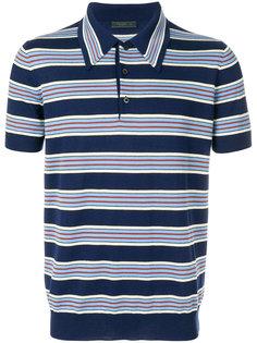 полосатая футболка-поло Prada