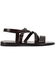 open toe strap sandals Silvano Sassetti