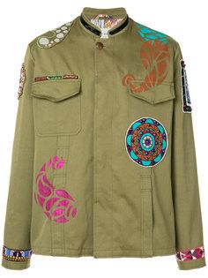 легкая куртка с нашивками Etro