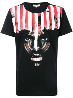 футболка с принтом-портретом Les Benjamins