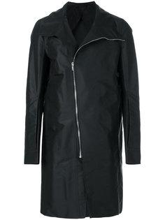 пальто со смещенной застежкой Rick Owens