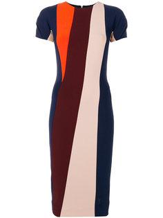 платье с панельным дизайном Victoria Beckham