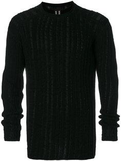 свитер свободной вязки Rick Owens