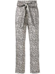брюки с цветочным узором  Masscob