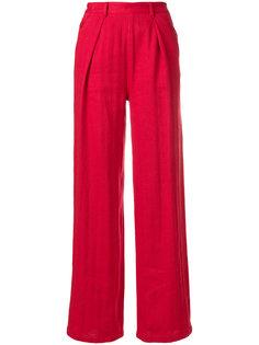 брюки с завышенной талией  Masscob