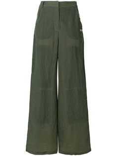 широкие брюки  Off-White