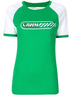футболка Lawn girl Off-White