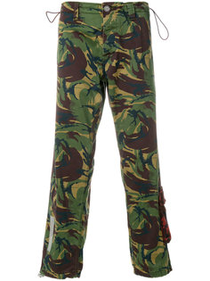 camouflage logo trousers Off-White