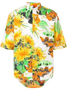 рубашка с цветочным принтом MSGM
