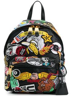 рюкзак с отделкой  Moschino