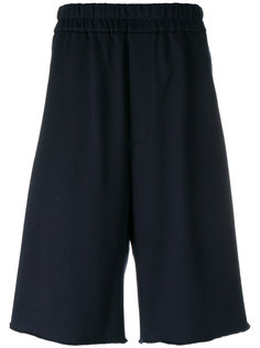 шорты с заниженным шаговым швом Jil Sander