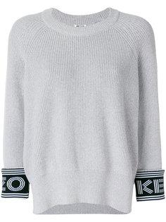свитер с логотипом Kenzo на манжетах Kenzo