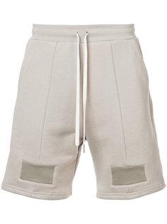 повседневные шорты на завязках John Elliott