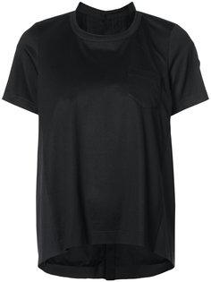 футболка с закругленным подолом Sacai