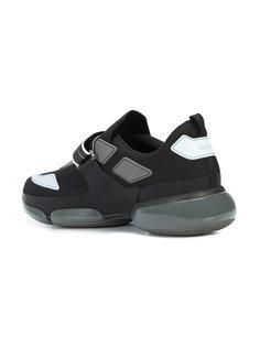кроссовки на липучках Prada