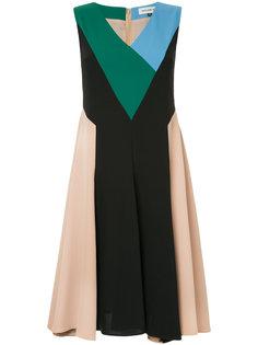 расклешенное платье с V-образным вырезом Han Ahn Soon