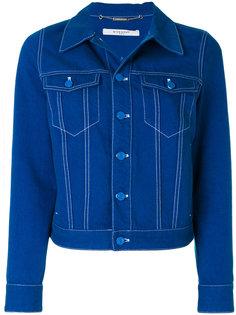 джинсовая куртка с нашивкой-звездой  Givenchy