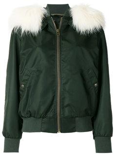 куртка-бомбер с капюшоном Mr & Mrs Italy
