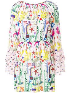 мини-платье с графическим принтом Frankie Morello