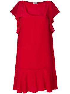 мини-платье с драпировкой Red Valentino