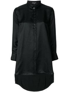 рубашка с неравномерным подолом Ann Demeulemeester Blanche