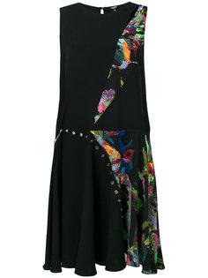 платье с лоскутным дизайном Versus