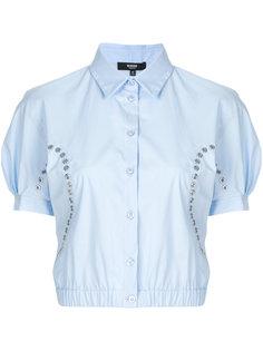 укороченная рубашка с люверсами Versus