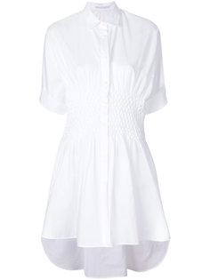 расклешенная удлиненная рубашка Ermanno Scervino