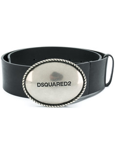 ремень с пряжкой с логотипом  Dsquared2