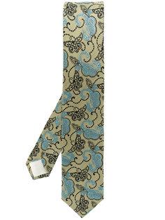"""галстук с принтом """"пейсли"""" Prada"""
