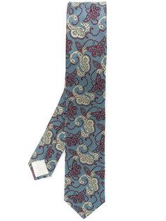 """галстук с вышитым узором """"пейсли"""" Prada"""