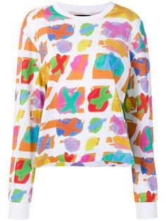 футболка с абстрактным принтом House Of Holland
