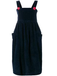 платье с контрастными пуговицами House Of Holland