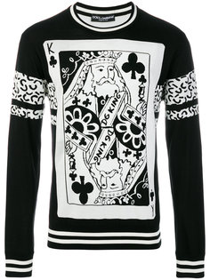 джемпер King of Clubs Dolce & Gabbana