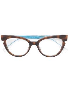 очки в оправе кошачий глаз Fendi Eyewear