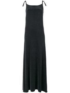 платье с лямками-спагетти Mm6 Maison Margiela