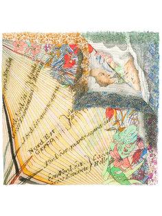 шарф с графическим принтом  Faliero Sarti