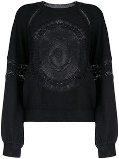 свитер с рукавами-колокол Chloé