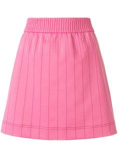 мини-юбка с контрастной строчкой  Valentino