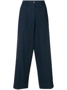 широкие укороченные брюки  Barena