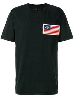футболка с принтом флага Mr & Mrs Italy