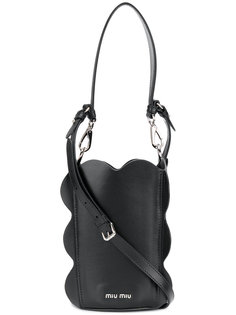 сумка-мешок с фестонами Miu Miu
