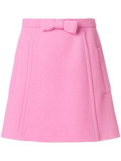 мини-юбка с бантом Miu Miu