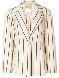 полосатый пиджак Erika Cavallini